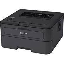 Brother HL-L2340DW Laser Printer - Monochrome - 2400 x 600 dpi Print - Plain Paper Print - Desktop - 26 ppm Mono Print - 250 sheets Input - Automatic Duplex Print - LED - Wireless LAN - USB - HL-L2340DW by Brother (Image #1)