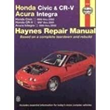 Honda Civic & Cr-V & Acura Integra (94 - 01) (Haynes Repair Manual) of unknown on 15 August 2005