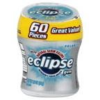Eclipse Chewing Gum Polar Ice Big E Pak 60 PC (Pack of 8)