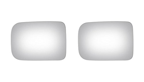 Burco Left & Right Mirror Glass for Town & Country, Pickup, Ramcharger, Van (D300 Glass Mirror Dodge)