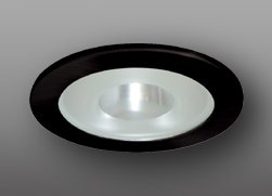 "Elco Lighting EL915B 4"" Shower Trim with Frosted Pinhole Glass - EL915"