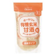 Osawa of organic brown rice sweet sake (grain) 250g 10 bags set by Osawa Japan
