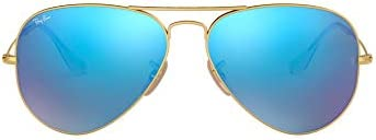 Ray-Ban Rb3025 Classic Mirrored Aviator Sunglasses