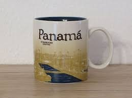 Starbucks Global Icon Series Panama Canal Coffee Mug 16oz