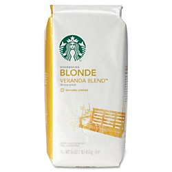 Starbucks Perquisite Blonde Roast Ground Coffee, 1 lb