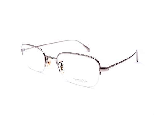 Oliver Peoples Rushton OV1199 Eyeglasses 5036 Silver Frame / RX Clear Demo Lenses