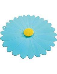 Charles Viancin Daisy Silicone Lid - Daisy - 8'' - Blue