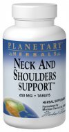 (Neck and Shoulders Support Planetary Herbals 120 Tabs)