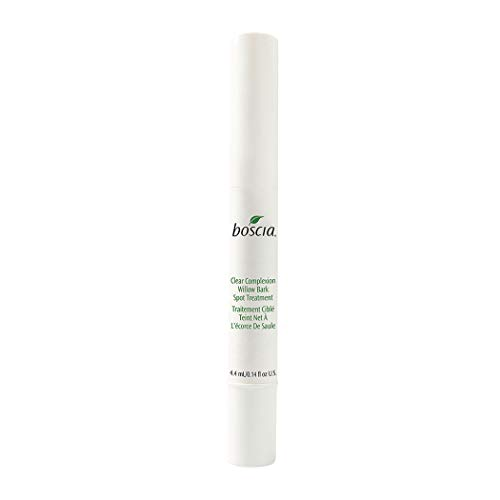 (boscia Clear Complexion Willow Bark Spot Treatment – Targeted Breakout Treatment Stick, 0.14 fl oz.)