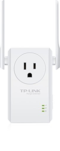 TP-LINK N300 Wi-Fi Range Extender With Pass-Through Outlet