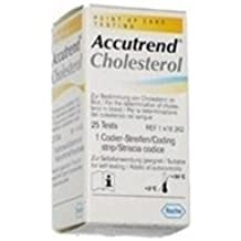 Roche Accutrend Cholesterol Test Strips - Box of 25