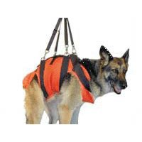 Rock N Rescue Dog Harness Medium Orange