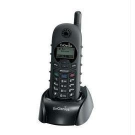 EnGenius Accessory DURAFON 1X-HC 1x System Phone Handset Black Electronic Consumer ()