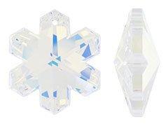 Swarovski 30mm Crystal AB Snowflake Pendant (Ab Snowflake Pendant)