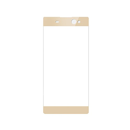 3D FULL Tempered Glass for Sony Xperia XA (Gold) - 5
