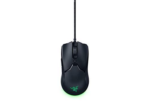 Razer Viper Mini - Raton para juegos ultraligero (raton para jugadores ambidiestro ultraligero con 61 g de peso, cable Speedflex, sensor optico de 8 500 ppp e iluminacion cromatica RGB)