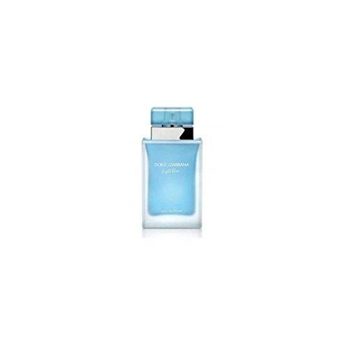 D & G Light Blue Eau Intense By Dolce & Gabbana For Women Eau De Parfum Spray .84 oz