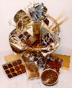 Sugar Free Chocolate Supreme Gift Basket by Diabetic Candy perfect for diabetic friendly treats ()