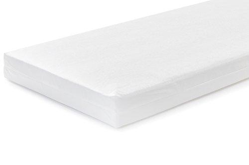 -[ Baby Elegance Eco Crib Mattress in White Fiber  ]-