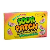 Sour Patch Watermelon,3.5 oz (Pack of 6)