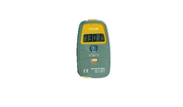 Koban medidor ambiental - Termometro digital kt6500: Amazon.es: Bricolaje y herramientas
