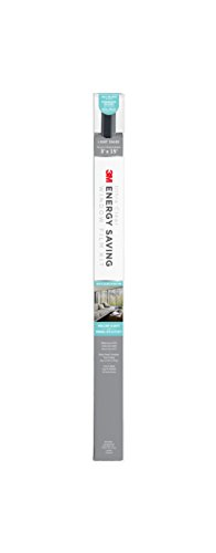 3M Ultra Clear Energy Saving Window Film Kit, 3-Feet x 15-Feet, Light Shade