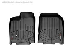 WeatherTech Custom Fit Front FloorLiner for Ford Edge/Lincoln MKX (Black)