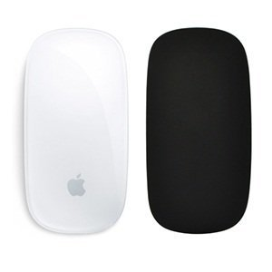 Price comparison product image Cosmos  Silicone soft skin protector cover for MAC Apple Magic Mouse (Black)