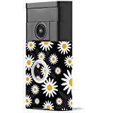 MightySkins Skin Compatible with Ring Video Doorbell - Daisies | Protective, Durable, and Unique Vinyl Decal wrap Cover | Easy to Apply, Remove, and Change Styles | Made in The USA