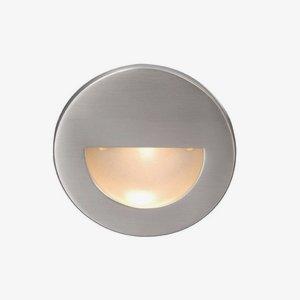 WAC Lighting WL-LED300-BL-BN LED Step Light Circular Scoop with Blue