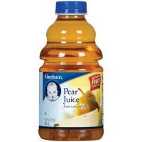 Gerber Juices 100% Juice Pear with Added Vitamin C-6 Pack