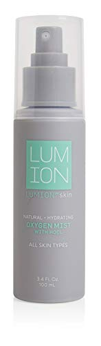 LUMION Skin All Natural Oxygen Mist with HOCL for All Skin Types, Hydrating, Cruelty Free, 3.4 fl oz. (Skin Mist)