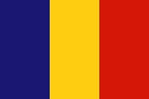 Haute Qualité pour bateau U24 Drapeau du Tchad drapeau 150 x 250 cm