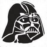 Darth Vader Star Wars Inspired Vinyl Decal Sticker BLACK Cars Trucks Vans SUV Laptops Wall Art 5