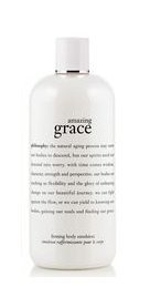 Philosophy Amazing Grace Firming Body Emulsion for Women, for Dry, Aged or Wrinkled Skin, 8.0 Ounce