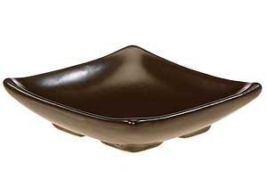 Small Square Ceramic Candle Dish ()