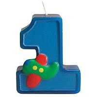 UPC 073525574769, Creative Converting Fun at One Happy First Birthday Boy, Molded Candle