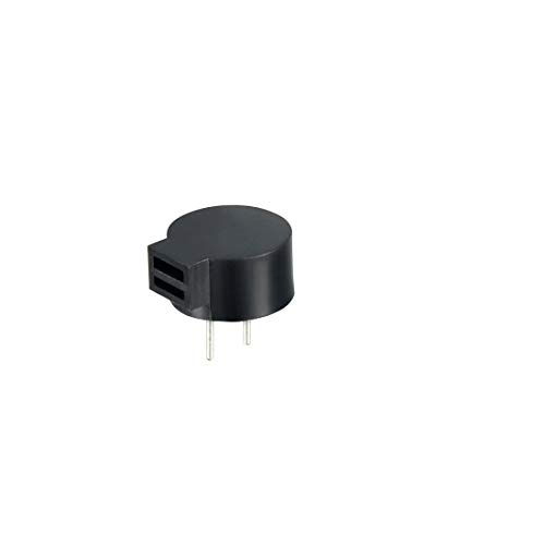 uxcell 3pcs DC 5V 2 Terminals Single-Side Buzz Passive Stereo Electronic Buzzer (Buzzer Electronics)