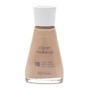 Covergirl Clean Liquid Make Up, Classic Ivory 110, 1-ounce Package