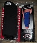 BIKE BUMK60-XL Adult Long Softball Knee Pad (BLK-Black, X-Large)- SOLD IN PAIRS