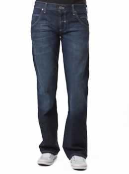 81f8d4d7 Wrangler® Sharkey Jeans Misty Blue (W30 x 32L): Amazon.co.uk: Clothing