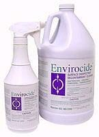 Envirocide Surface Disinfectant Cleaner Gallon by Metrex