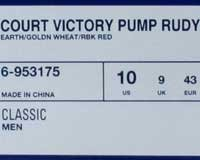 Reebok Court Victory Pump Rudy 6-953175 bMUdjsAOTc