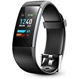 Lenovo Fitness Tracker, Original Fitness Tracker Heart Rate Monitor, Color Screen Sport Smart Watch, IP67 Waterproof Activity Tracker, Step Calorie Counter Women Men ()