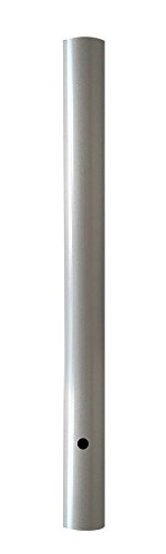 Wellite 72 Inch Outdoor Direct Burial Lamp Post Aluminum Post Pole Fits Most 3