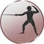 S.B.J Motiv Federball Durchmesser 50 mm Durchmesser Sportland Pokal//Medaille Emblem