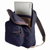 Duluth Pack Large Standard Laptop Daypack, Navy, 18 x 14 x 5-Inch