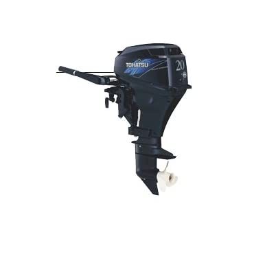 Tohatsu 20HP FourStroke Outboard Engine with 20 Shaft, Power Tilt