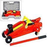 Domeiki 2 Ton Mini Portable Floor Jack Vehicle Car Garage Auto Small Hydraulic Lift Case ()