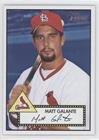 Matt Galante (Baseball Card) 2001 Topps Heritage - [Base] #252
